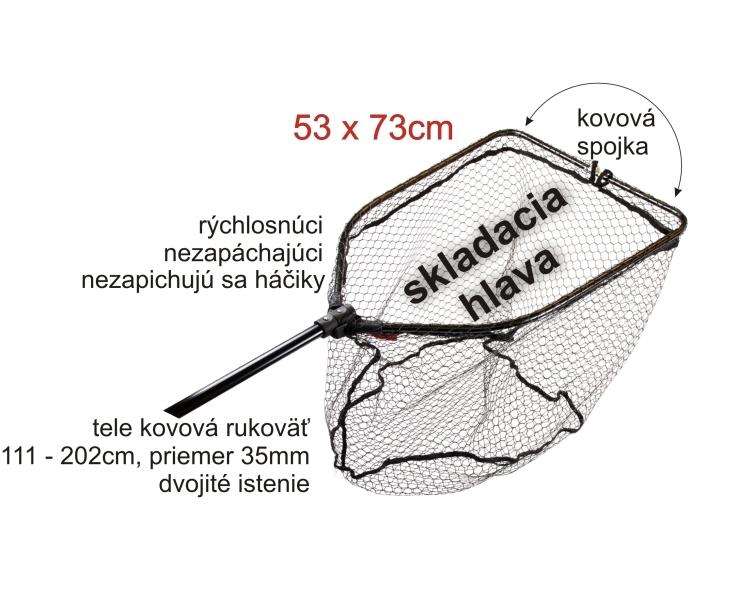 Podběrák velký pogumovaný 53x73cm
