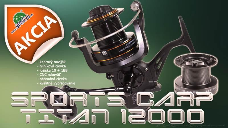 Navijak SPORTS CARP TITAN 12000 - dvojbrzdový