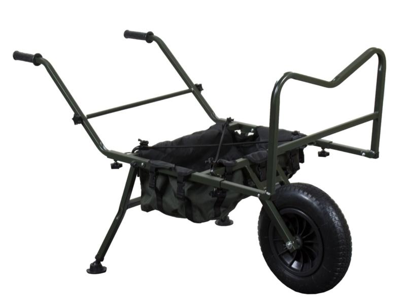 Rybářský skládací přepravní vozík
