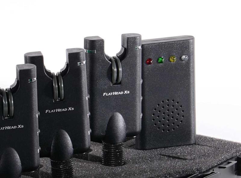 Flathead Xs - SPORTS SET 3x Signalizátor + příposlech