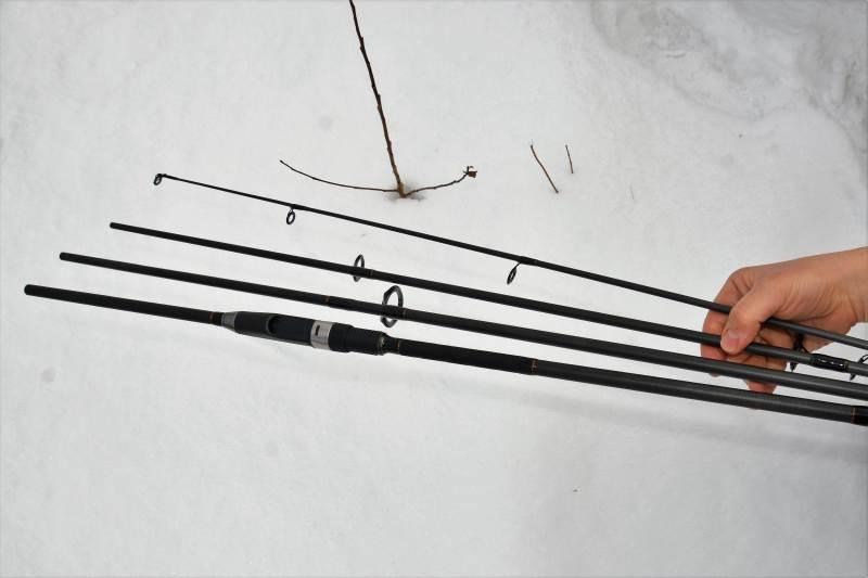 Kaprařský čtyřdílný prut 335cm / 2,75lb