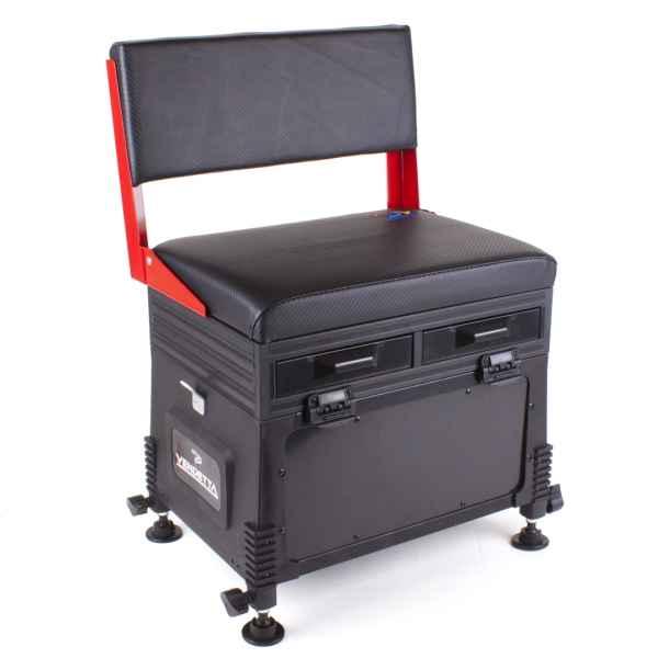 JVS Feeder sedací box - 32 x 42 x 60 / 5kg - červený