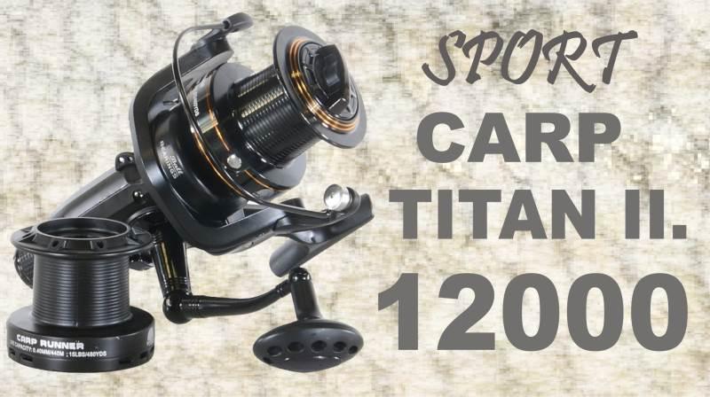 Navijak SPORTS CARP TITAN II 12000 - dvojbrzdový - 4ks