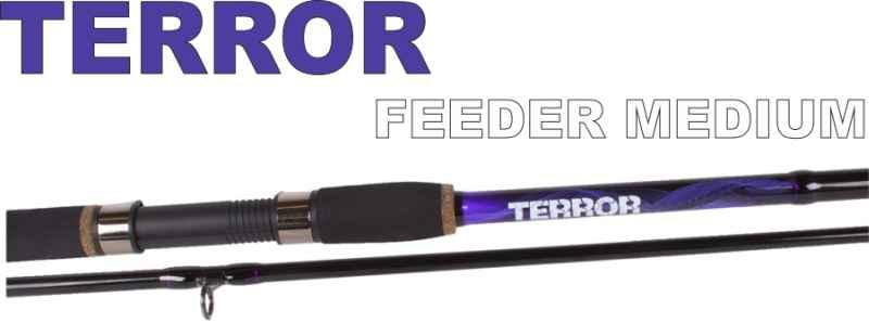 Feeder pruty JVS Terror 3-díl 3,60m / 20-60g Medium