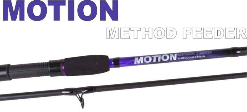 Method feeder pruty JVS Motion 2-díl 3,30m / 20-60g