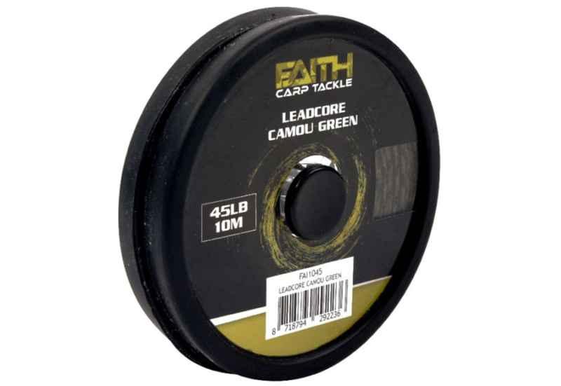 FAITH Leadcore camu green 45lb/10m