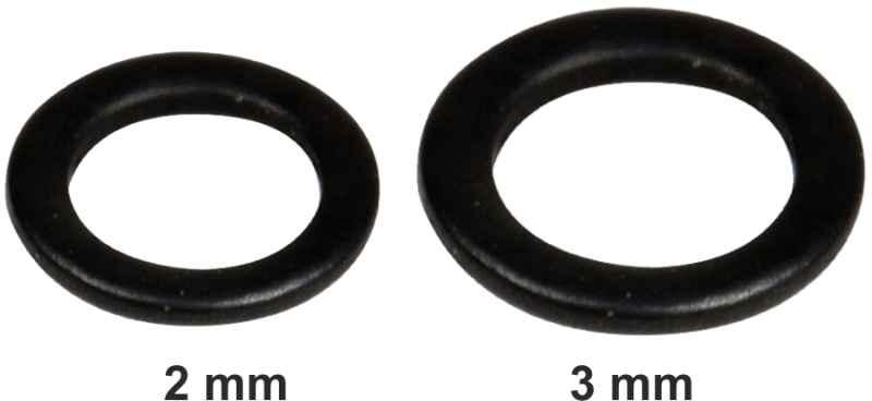 Kroužek barvený FAITH Rig Rings 10ks 2mm
