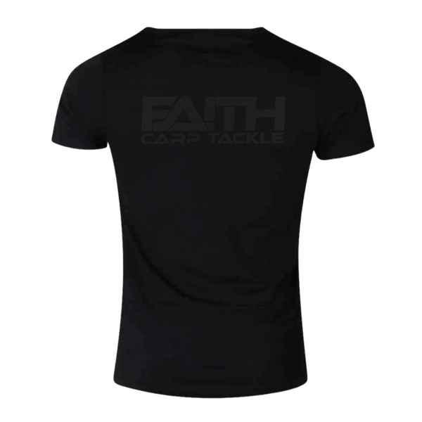 Tričko FAITH krátký rukáv - černé XXXL