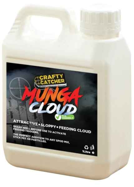 Tekutý posilovač Crafty Catcher Munga Cloud 1liter