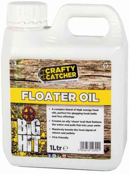 Tekutý posilovač Crafty Catcher hladinový olej 1 litr