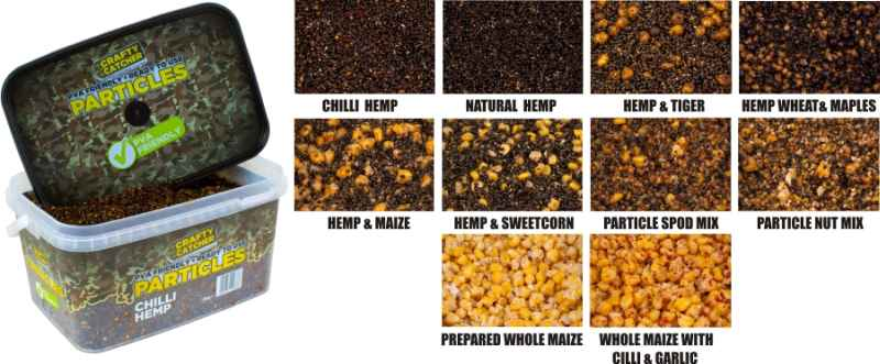 Crafty Hemp & Crushed Maize Particles 3kg