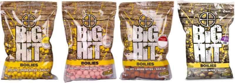 Boilies Crafty Catcher Big Hit 15mm / 1kg Chocolate & Vanilla Nut/Čoko