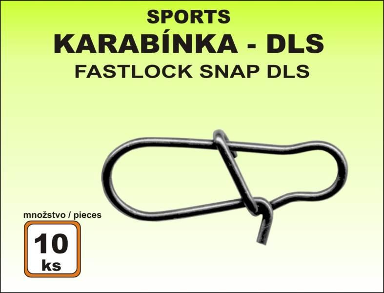 Karabinka Sports DLS (bal.10ks) vel. 0/11kg