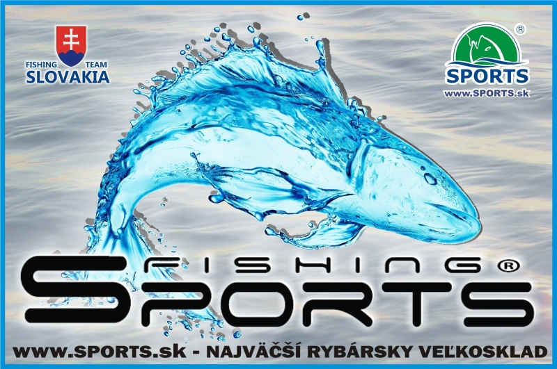 "Samolepka ""Fishing Sports"" 10 x 6,5 cm"