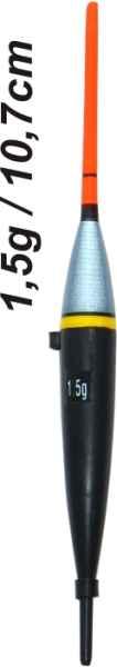 Splávek na ryby - délka 107mm/nosnost 2,8 gr