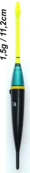 Splávek na ryby - délka 112mm/nosnost 2,8 gr