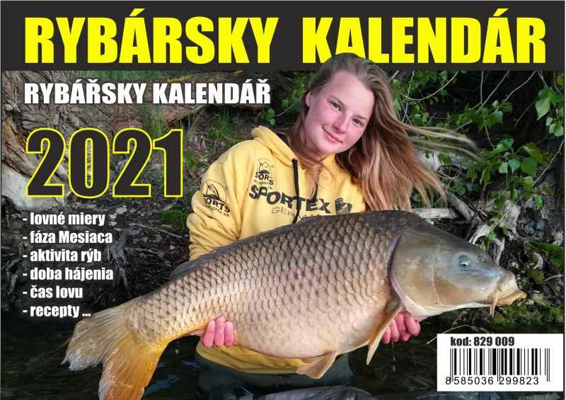 SPORTS Rybářský kalendář s recepty 2021