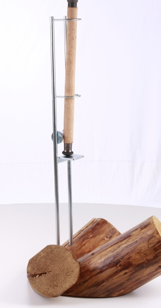 Sumcový držák prutu s kladkou 79cm