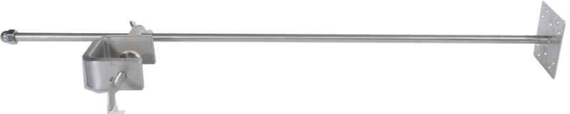 Nerezový držák sondy s úchytem 76cm