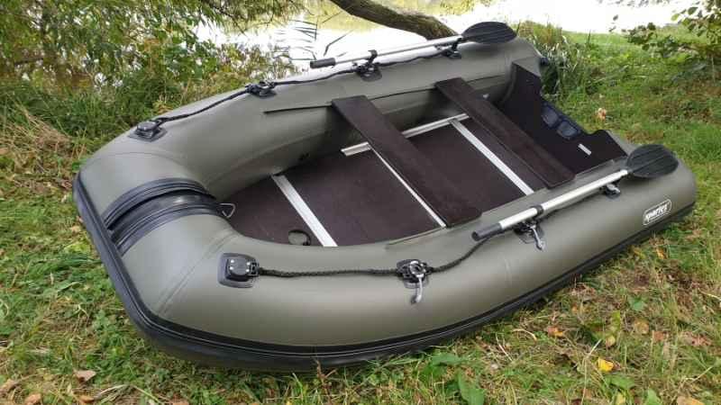 Sportex člun Shelf 310 s dřevěnou podlaha + FASTEN