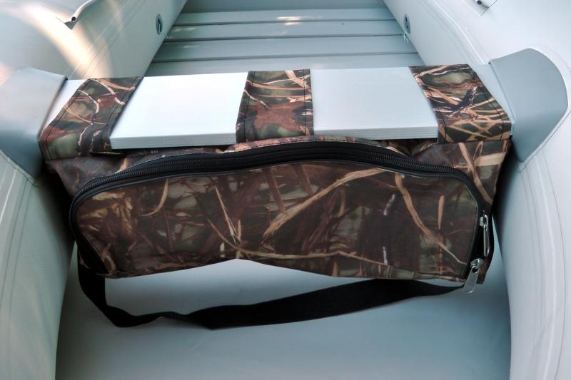 Taška pod sedačku člunu - kamuflážní barva