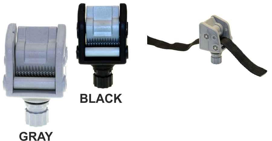 Fasten řidič lana se stop systémem černý