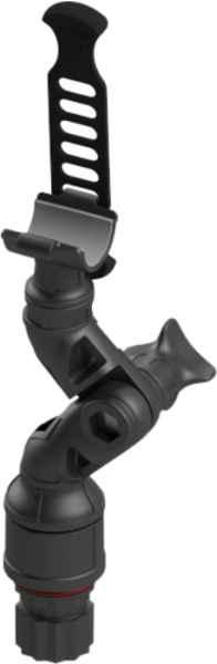Držák svítilny s nastavitelným ramenem do průměru 30mm