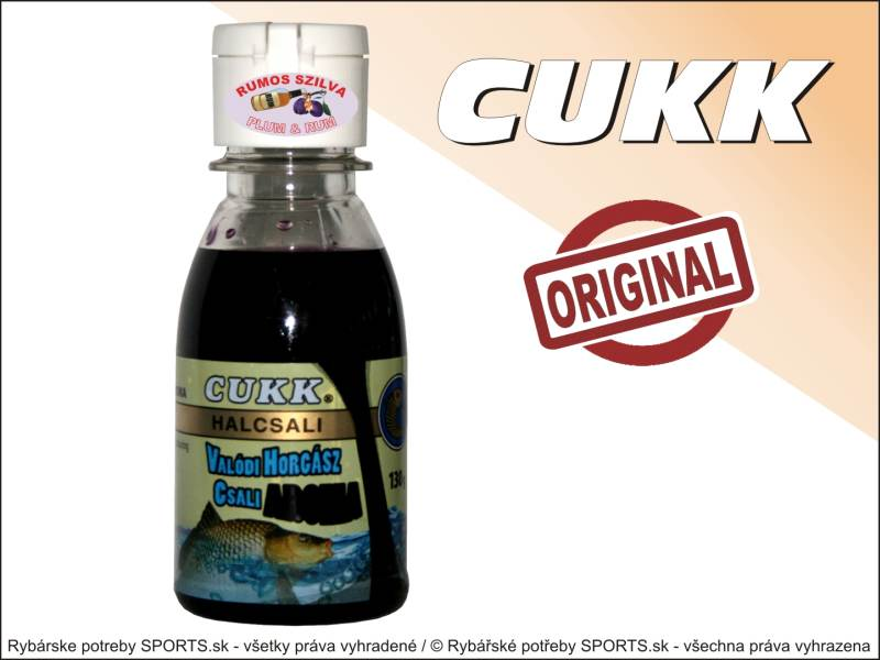 Cukk AROMA - tekutý dip 130g - Rum Švestka