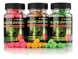 SuperFeed Fluo Mini Dumbells Floating 35g, 9x14mm
