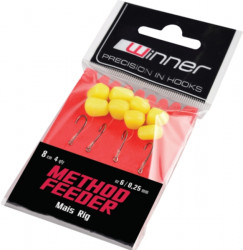 Method Feeder Mais Rig - 8cm / 4ks