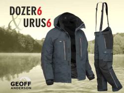 AKCE Geoff Anderson - DOZER 6 + Urus 6 černá