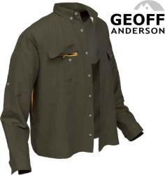 Košile Polybrush 2 Geoff Anderson dlouhý rukáv - zelená