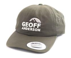 Kšiltovka Geoff Anderson FlexFit voděodolná zelená