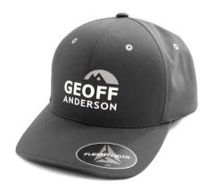 Kšiltovka Geoff Anderson FlexFit Delta šedá