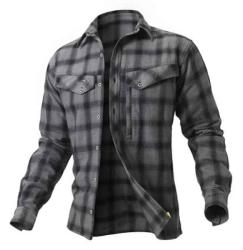 Košile Ezmar Geoff Anderson dlouhý rukáv - šedá
