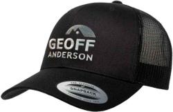 Kšiltovka Geoff Anderson s logem - černá