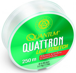 Vlasec quantum quattron low stretch Fluoro carbon 250m