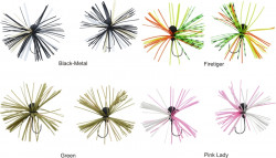 Jig 7,5g, Mini Skirted Jig Head, 2ks