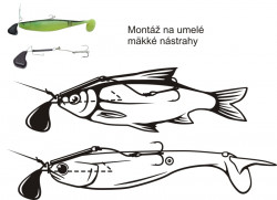 Systém Black Cat soft lure