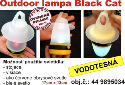 Black Cat Outdoor lampa 17 x 13cm