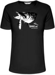 d1f53f567b4 Rybářské tričko štika ulovená na wobbler.