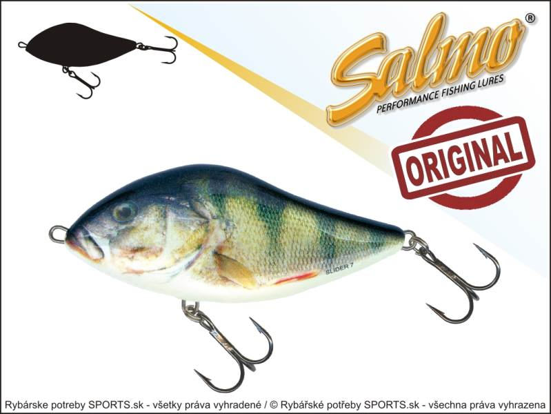 SALMO Wobler Slider SD5S barva RPH