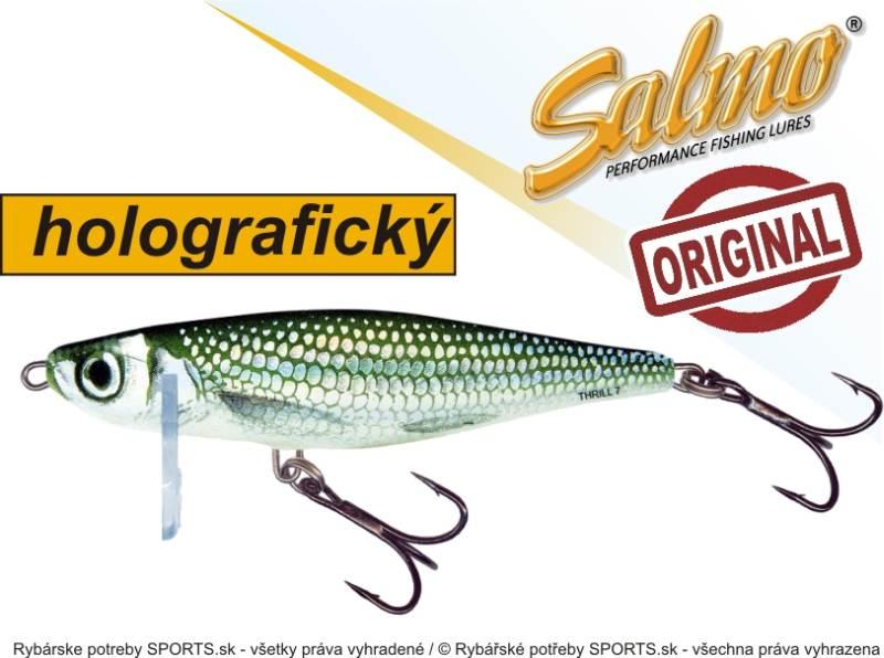 SALMO Wobler Thrill TH7 barva HBL