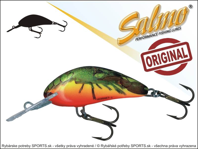 SALMO Wobler Hornet H5S barva HCW