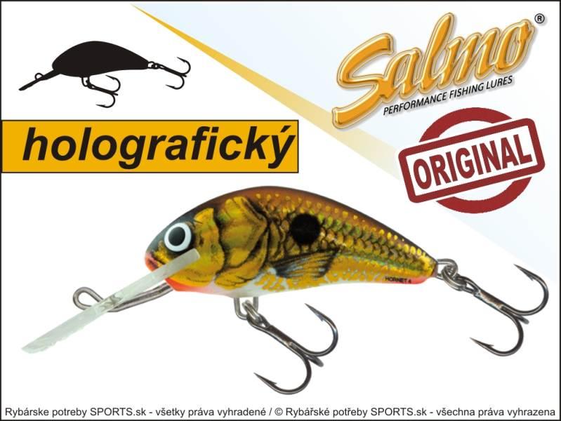 SALMO Wobler Hornet H4F barva UVGS