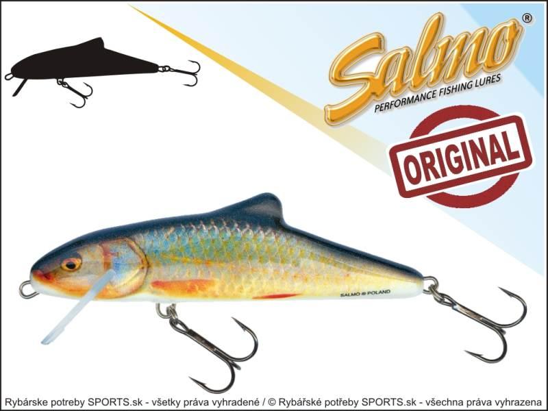 SALMO Wobler Skinner SK12F barva RR