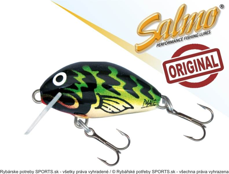 Salmo Wobler TINY IT3S barva GGT